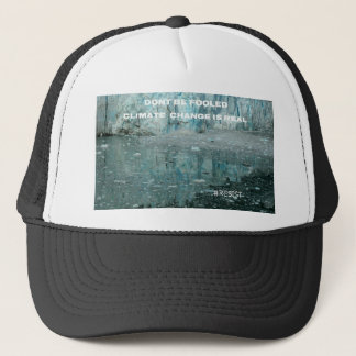 Climate Change Is Real Melting Glacier Trucker Hat