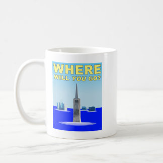 Climate Change: San Francisco Underwater Coffee Mug