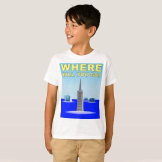 Climate Change: San Francisco Underwater T-Shirt