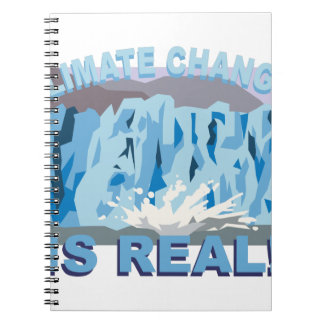 Climate Change Spiral Notebook