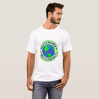 Climate Change Tee Shirt, Great For Earth Day