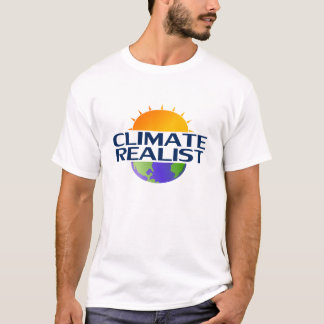 Climate Realist (white) T-Shirt