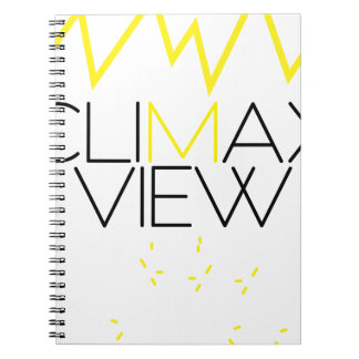 Climax view(Yellow and black) Notebooks
