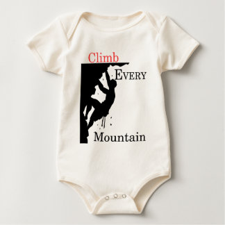 Climb Every Mountain Baby Bodysuit
