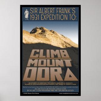 Climb Mount Dora poster