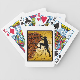 Climb Time Bicycle Playing Cards