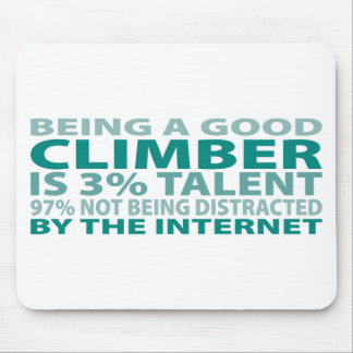 Climber 3% Talent Mouse Pad