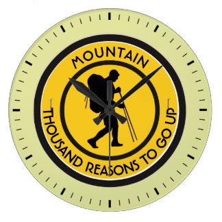 Climber Large Clock