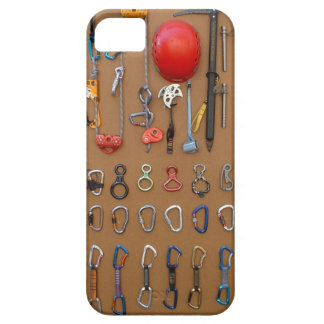 Climber's Equipment -- Mountain Climbing Gear iPhone 5 Covers
