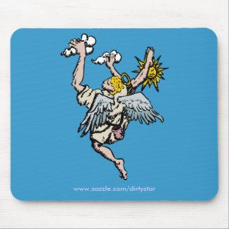 Climbing Angel Mouse Pad