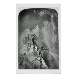 Climbing at Night from Ten Scenes in the Last As Print