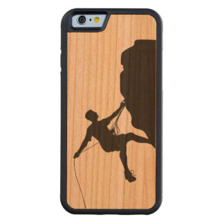 Climbing Carved Cherry iPhone 6 Bumper Case