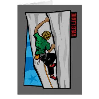 Climbing Granite Card