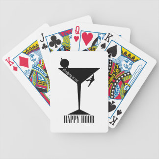 Climbing Is My Happy Hour Bicycle Playing Cards