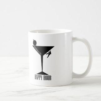 Climbing Is My Happy Hour Coffee Mug