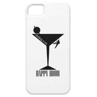 Climbing Is My Happy Hour iPhone 5 Case