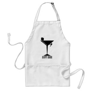 Climbing Is My Happy Hour Standard Apron