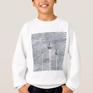 Climbing Jets in the Clouds Sweatshirt