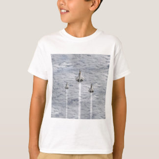 Climbing Jets in the Clouds T-Shirt