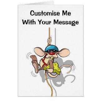 Climbing Rat Card