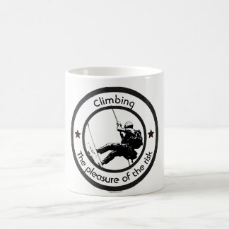 Climbing, Risk pleasure Coffee Mug