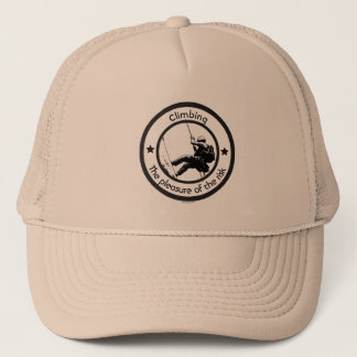 Climbing, Risk pleasure Trucker Hat