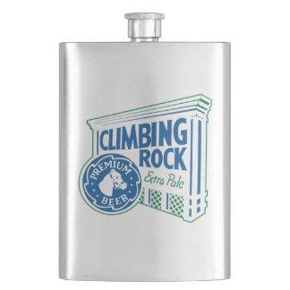 Climbing Rock (Parody) Hip Flask