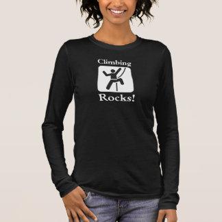 Climbing Rocks! - Climber T-Shirt (Dark)