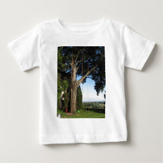 Climbing ropes hanging from a big tree baby T-Shirt