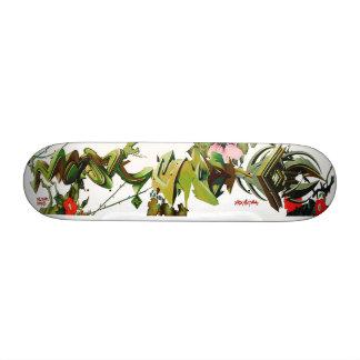 Climbing Thorny Tag Roses -  Skate Deck Art