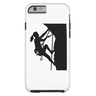 Climbing woman girl tough iPhone 6 case