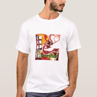 CLING Groovyshoes Mens T Shirt White