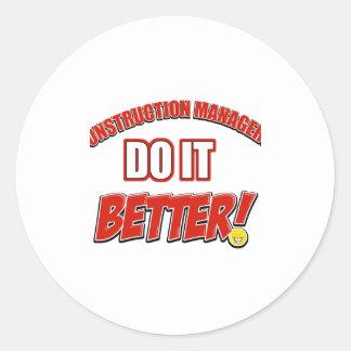 Clinical Dietician Job designs Round Sticker