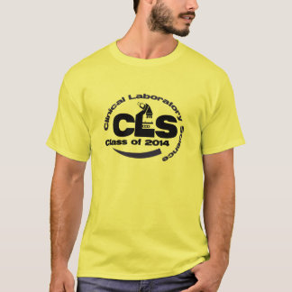 Clinical Laboratory Science Class of 2014 T-shirt