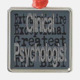 Clinical Psychologist Extraordinaire Metal Ornament