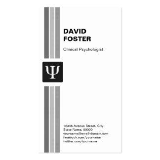 Clinical Psychologist - Psychology Psi Symbol Pack Of Standard Business Cards