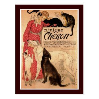 Clinique Cheron Postcard