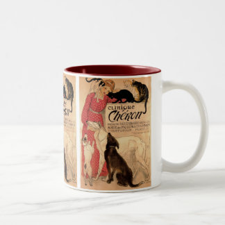 Clinique Cheron Two-Tone Coffee Mug