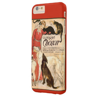 Clinique Cheron Vintage Veterinary Advertisement Barely There iPhone 6 Plus Case