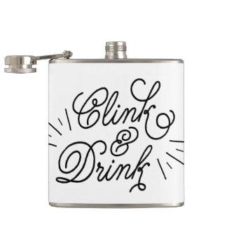 Clink & Drink Hip Flask