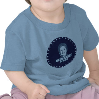 CLINTON BLUE STATE OF MIND SHIRT