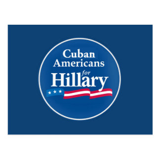 Clinton CUBANS Postcard