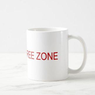 Clinton-free zone coffee mug