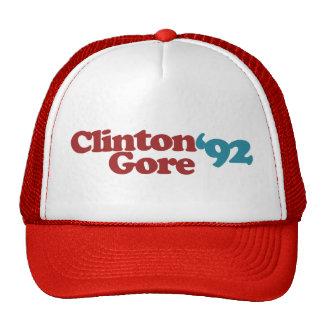 Clinton Gore 1992 Trucker Hats