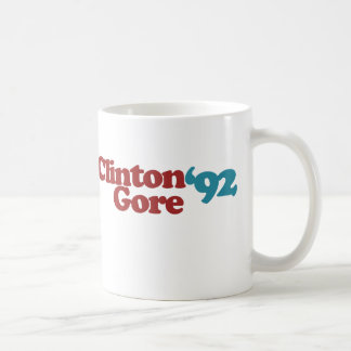 Clinton Gore 1992 Coffee Mug