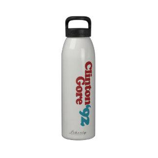 Clinton Gore 1992 Reusable Water Bottle