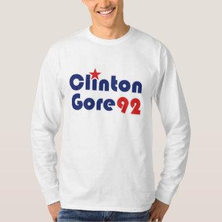 Clinton Gore 92 Retro Democrat T-Shirt