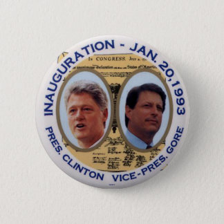 Clinton-Gore '93 Inauguration jugate  - Button