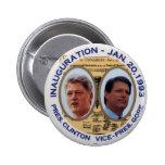 Clinton-Gore '93 Inauguration jugate  - Button