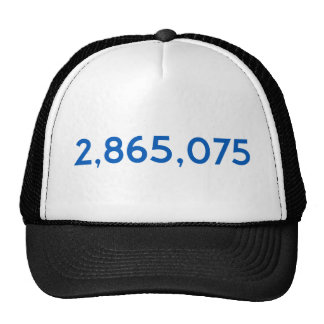 Clinton Got This Many More Votes Trucker Hat